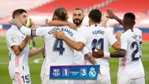 Real Madrid, victorie in El Clasico