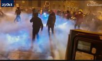 Proteste in Italia (Screenshot)