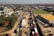 Pasajul Mogosoaia - in constructie - octombrie 2020