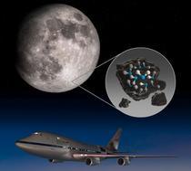 NASA si apa de pe Luna