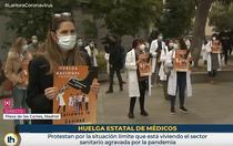 Doctori in greva in Spania