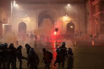 Proteste impotriva restrictiilor la Roma