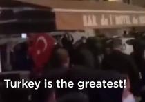 miting al turcilor in Franta