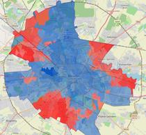 Rezultatul votului in Bucuresti, pe sectii