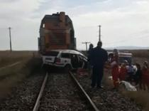 Accident de tren la Dumbraveni