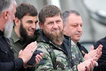 Ramzan Kadirov alaturi de alti lideri ceceni