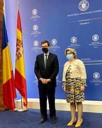 Iulia Matei și Juan Gonzalez Barba