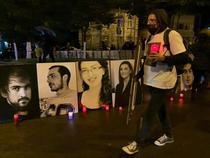 VIDEO Comemorare Colectiv - 5 ani: Lanț uman între Curtea de Apel București și fostul club, în memoria victimelor incendiului