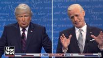 Dezbaterea Trump-Biden, la SNL