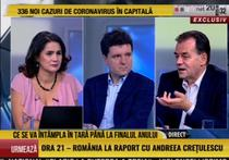 Ludovic Orban si Nicusor Dan, la Romania TV