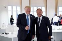 Donald Trump si Donald Tusk