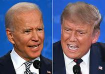 Joe Biden si Donald Trump, confruntare electorala