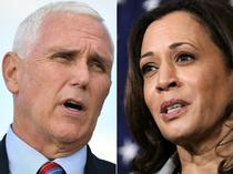Mike Pence, Kamala Harris
