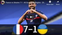 Franta vs Ucraina, meci amical