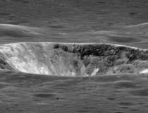 Un crater de pe Luna