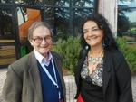 Roger Penrose (premiul Nobel) si Catalina Curceanu