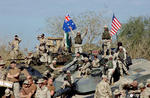 Soldati americani si australieni in Afganistan