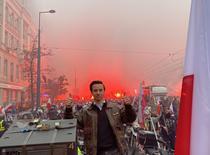 Violente la Marsul din Varsovia (sursa foto:twitter)