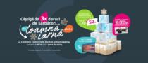 Centrele Comerciale Auchan și Aushopping au dat startul sărbătorilor de iarnă cu sute de premii!