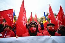 Alegeri Moldova, suporteri ai socialistului Dodon