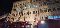 Incendiul de la Spitalul Piatra Neamt