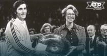 Stockholm 1975: Prințesa Christina a Suediei îi înmânează trofeul