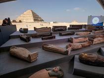 Sarcofage descoperite in Egipt