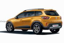 Un posibil nou SUV Dacia de 7 locuri
