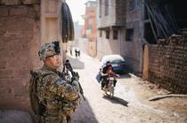 Soldat australian in Afganistan