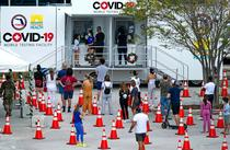 Testare coronavirus in SUA