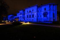 Palatul Cotroceni iluminat Ziua Drepturilor Copilului 1