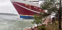 feribot eșuat Finlanda