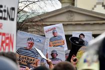 Protest anti-masti Berlin