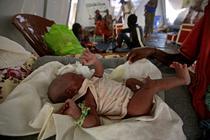 Bebelus Tigray in tabara de refugiati din Sudan