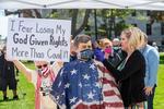 Protest impotriva restrictiilor SUA