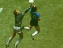Peter Shilton, Diego Maradona si 'Mana lui Dumnezeu'