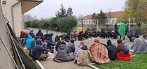 migranti sub cerul liber, la Timișoara