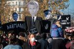 Franta - protest impotriva noii legi a securitatii