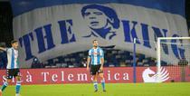 Napoli si imaginea lui Maradona pe San Paolo