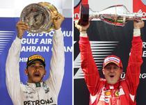 Lewis Hamilton si Michael Schumacher