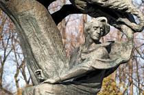 Statuie a lui Frederic Chopin in Varsovia
