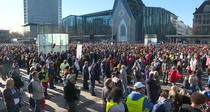 Protest în Leipzig