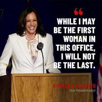 Kamala Harris, primul discurs dupa victorie