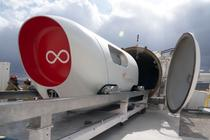Capsula Virgin Hyperloop