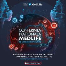Conferinta Nationala MedLife - 16-20 nov. 2020