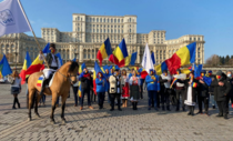 Paradă a umaniștilor în Piața Constituției