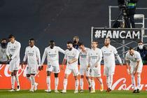 Real Madrid si bucuria golului