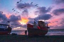 Vase de pescuit, Canalul Manecii