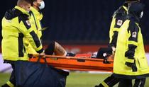 Neymar, scos cu targa de pe teren