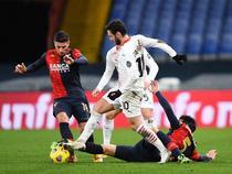 AC Milan, doar remiza cu Genoa